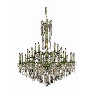 Astoria Grand Utica 32-Light Candle Style Chandelier