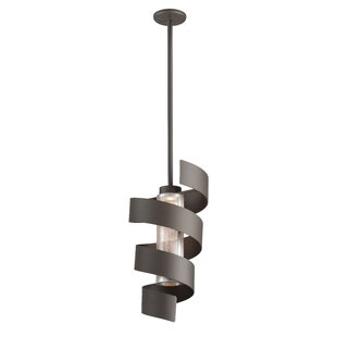 Dowler 1-Light Geometric Pendant by Ivy Bronx