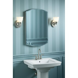 Archer 20 x 31 Aluminum Recessed or Surface Mount Medicine Cabinet with Mirrored Door By Kohler