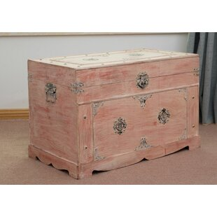 Conleth Antique Hardware Rustic Trunk by World Menagerie