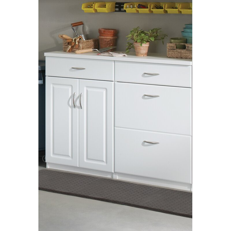 Closetmaid Dimensions 36 H X 24 W X 19 D 3 Drawer Base Cabinet