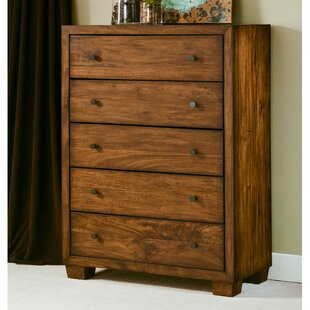 angelo:HOME Leandra 5 Drawer Dresser