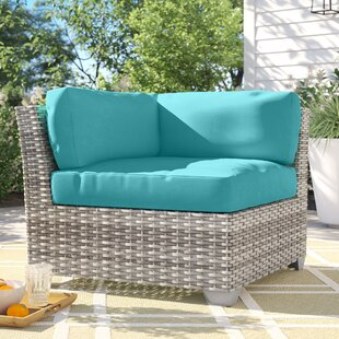 Falmouth Corner Patio Chair with Cushions