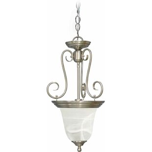 Troy 1-Light Urn Pendant by Volume Lighting