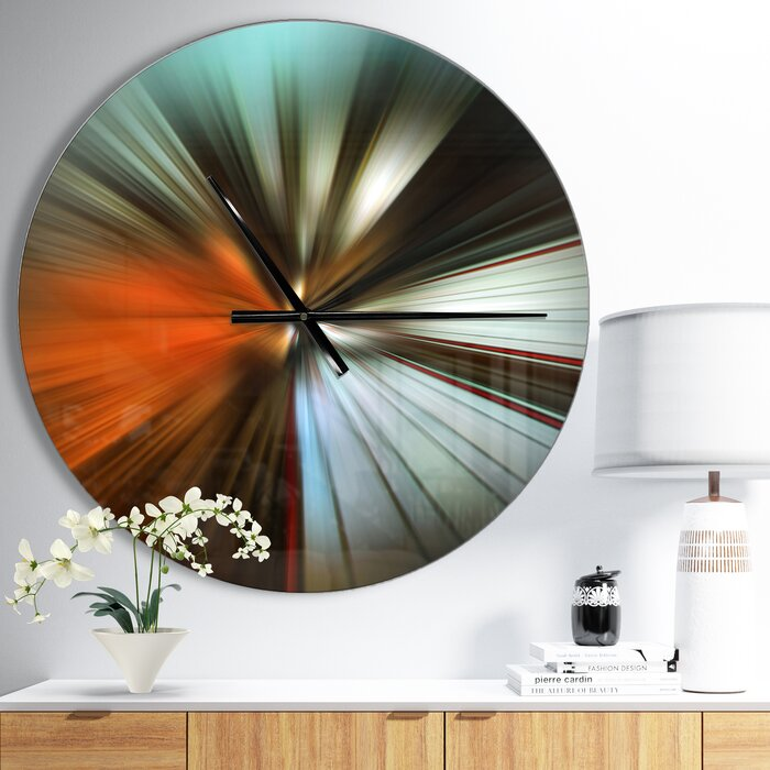 East Orange Focus >> Focus Wall Clock