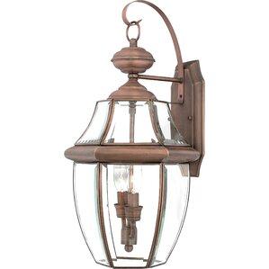 Sylvester 2-Light Outdoor Wall Lantern