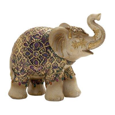 Antique golden Elephant Figurine