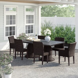 Fairfield 7 Piece Dining Set by Sol 72 Outdoor