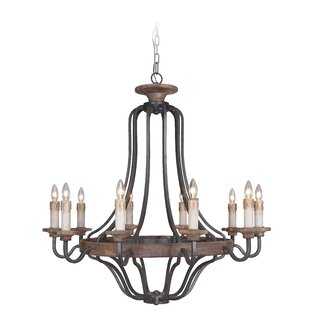 Reviews Elisabetta 10-Light Empire Chandelier By Laurel Foundry Modern Farmhouse