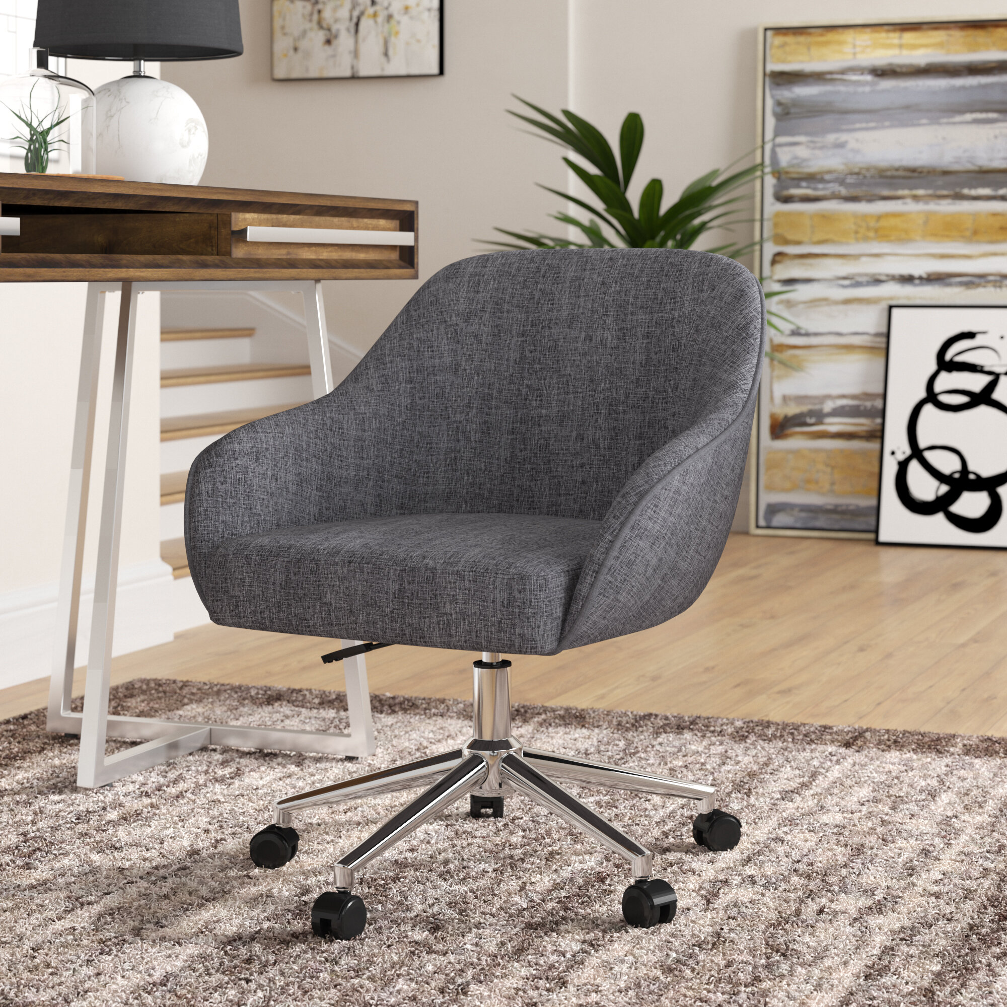 Footrest Office Chairs You Ll Love In 2020 Wayfair