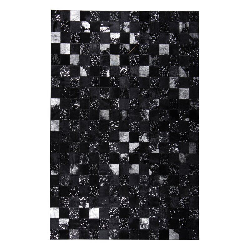 Laude Run Geometric Hand Tufted