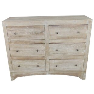 Nicholls 6 Drawer Double Dresser