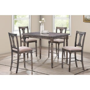 Dunwoody 5 Piece Counter Height Pub Table Set