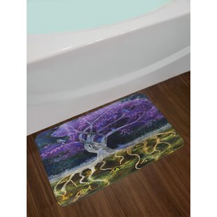 Tree of Life Bath Rug By East Urban Home
