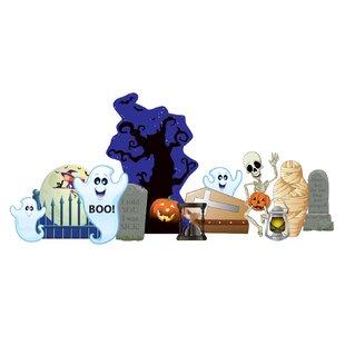 Halloween Graveyard Standup By Advanced Graphics