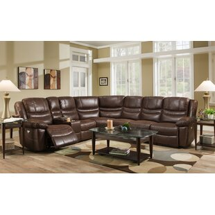 Kinbrae Reclining Sectional Red Barrel Studio