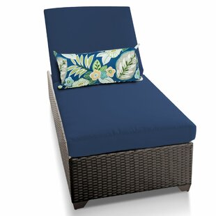 TK Classics Classic Chaise Lounge with Cushions