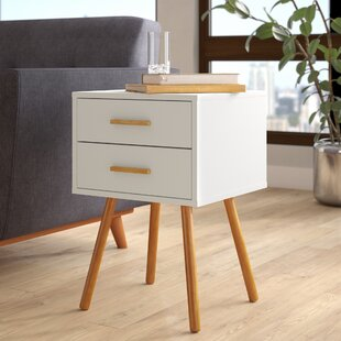 Langley Street Delilah End Table With Storage