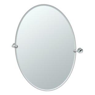 Gatco Glam Oval Wall Mirror