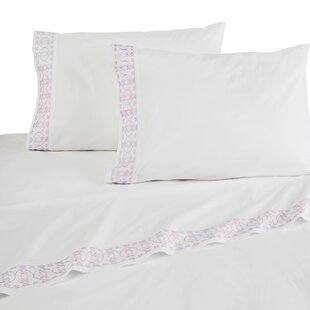 Hermione 4 Piece Embroidered Sheet Set