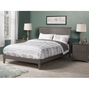 Darby Home Co Atlantic Gray Panel Bed