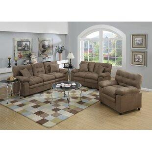 Hayleigh 3 Piece Living Room Set by Red Barrel Studio