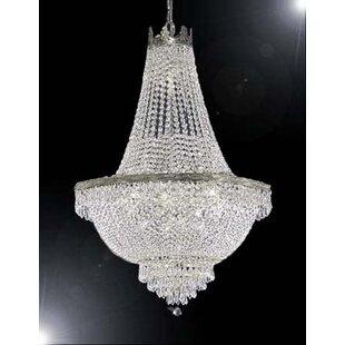 Best Review Dyann 14-Light Chandelier By Willa Arlo Interiors