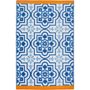 Estate Blue Indoor/Outdoor Area Rug