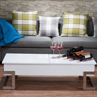 Mercer41 Minna Coffee Table with Lift Top