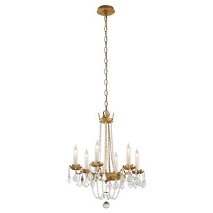 Welcher 6-Light Empire Chandelier by Astoria Grand