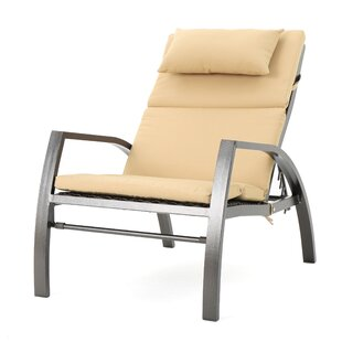 Pergamon Outdoor Lounge Chair with Cushion