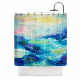 Purchase Taken By The Undertow by Ebi Emporium Shower Curtain ByEast Urban Home