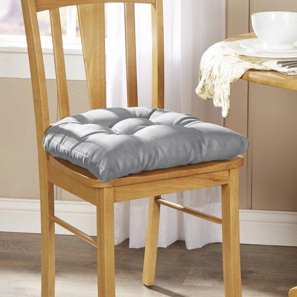aqua sky chair cushion bench pad Tufted bench cushion 36 x 18  canvas seat cushion
