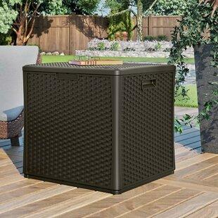 Cube 60 Gallon Plastic Deck Box by Suncast