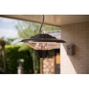 Roberto Hanging 1500W Electric Patio Heater By Belfry Heating