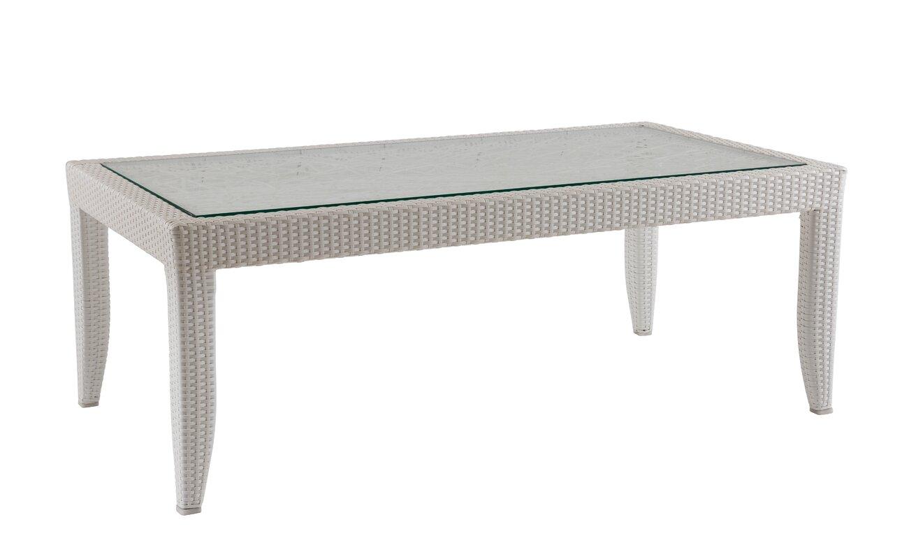 David francis furniture mykonos wicker rattan coffee table mykonos wicker rattan coffee table geotapseo Images