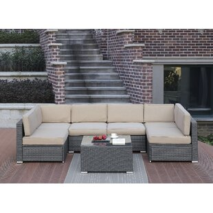 Rosecliff Heights Lympsham 7 Piece Sectional Set