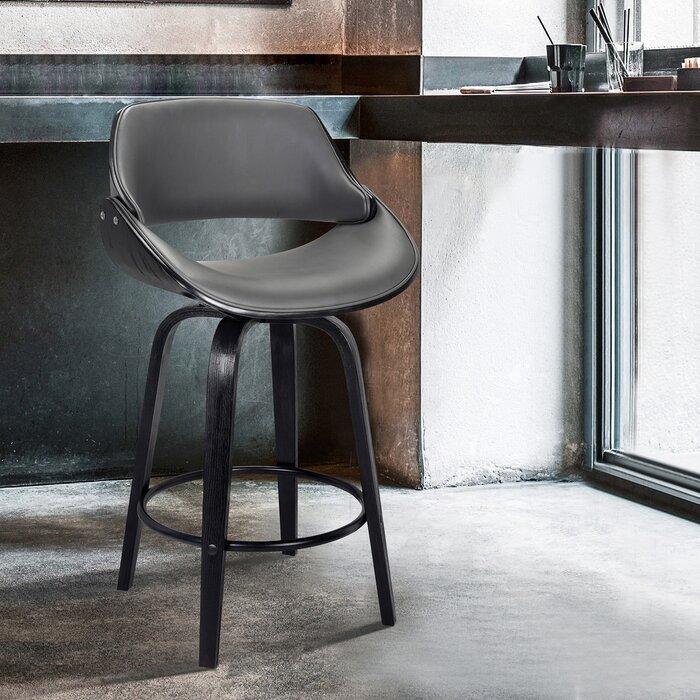 Groovy Farrish Bar Counter Swivel Stool Bralicious Painted Fabric Chair Ideas Braliciousco
