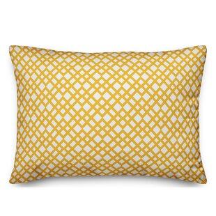 South Ferry Lattice Lumbar Pillow