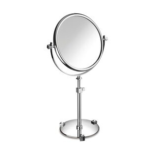 Windisch by Nameeks Double Face Pedestal Magnifying Mirror