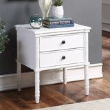 Myra 2 Drawer Nightstand by Longshore Tides
