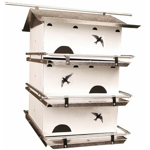 Birds Choice Watersedge Suites 21 in x 14 in x 19 in Purple Martin House