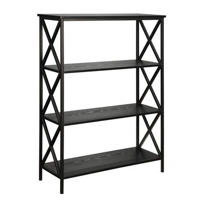 Abbottsmoor Etagere Bookcase Color: Black by Andover Mills