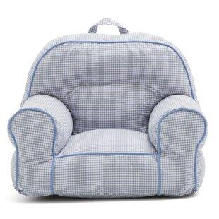 Big Joe Junior Gingham Bean Bag Chair by Comfort Research