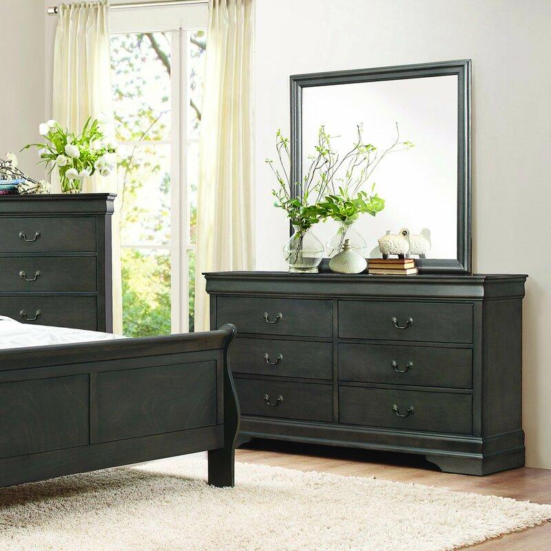 Waynesburg 6 Drawer Double Dresser