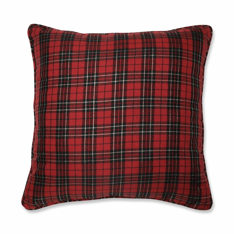 Blackwell Holiday Plaid Throw Pillow