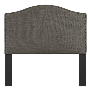 Mora Upholstered Panel Headboard by Alcott Hill