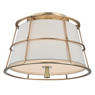 Longshore Tides Arika 2-Light Semi Flush Mount