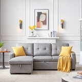 Coulton 82 Wide Reversible Sleeper Sofa and Chaise by Latitude Run®