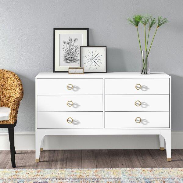 white dresser gold hardware
